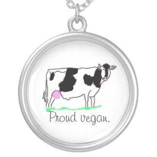 Collar orgulloso del vegano