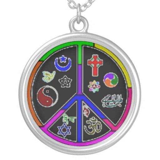 Collar pacífico de las religiones