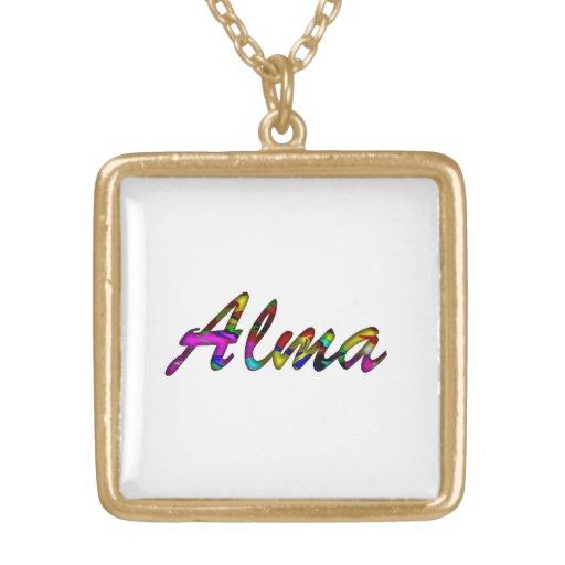Collar para Alma en blanco