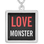 """""""Collar pendiente del monstruo del amor"""""""