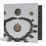 Collar, pendientes, broche y colgante, c.1870