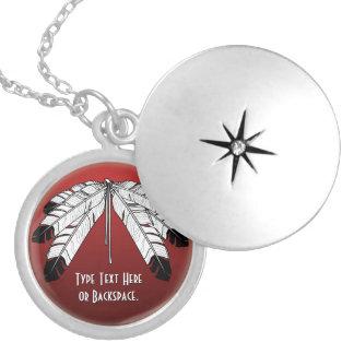 Collar personalizado collar nativo de Eagle del ar
