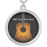 Collar personalizado de la música de la guitarra a