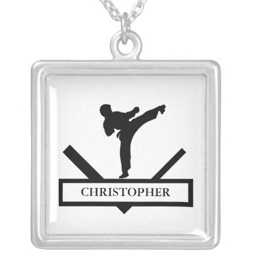 Collar personalizado de los artes marciales del