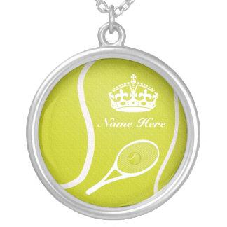 Collar personalizado del tenis para las mujeres y
