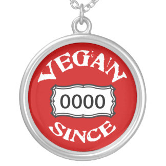 Collar personalizado del vegano