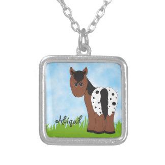 Collar personalizado lindo del caballo para los ch