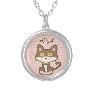 Collar personalizado lindo del gato del gatito de