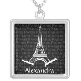 Collar personalizado torre Eiffel del modelo de Pa