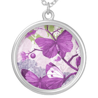 Collar púrpura de la mariposa