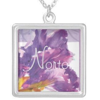 Collar púrpura del iris de Norton