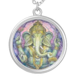 Collar redondo de Ganesha de dios hindú del elefan