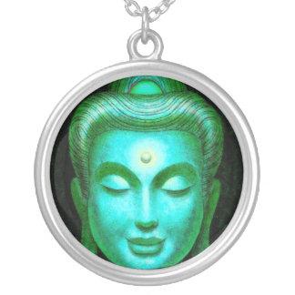 Collar redondo de la meditación de Buda del zen de