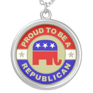 Collar republicano orgulloso
