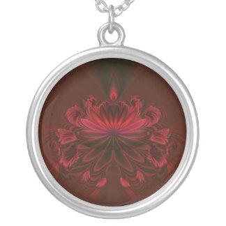 Collar rojo de Lotus