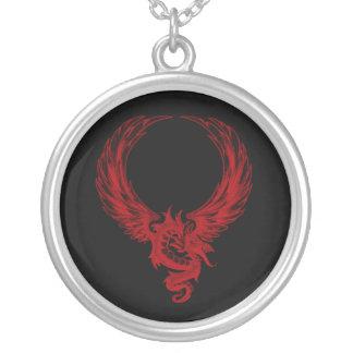 Collar rojo de Ryuu del dragón