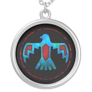 Collar rojo y azul de Thunderbird