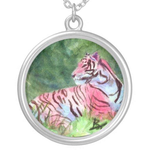 Collar rosado del tigre