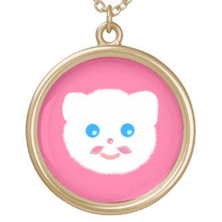 collar rosado divertido lindo del gato del gatito