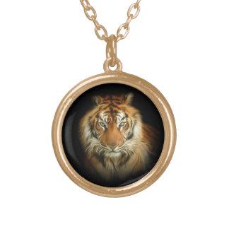 Collar salvaje del tigre