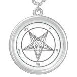 Collar satánico de Baphomet