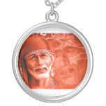 Collar - Shirdi Sai Baba Round Pendant Necklace