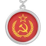 Collar soviético de la bandera
