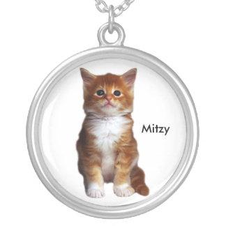 Collar su foto del mascota del gato