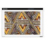 Collar - triángulo tribal calcomanías para portátiles