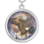 Collar usable del arte de Eagle del alcohol