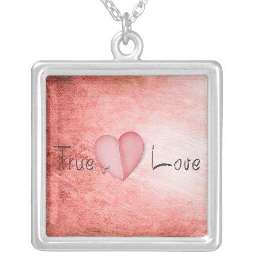 collar verdadero del amor