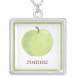 Collar verde de Apple