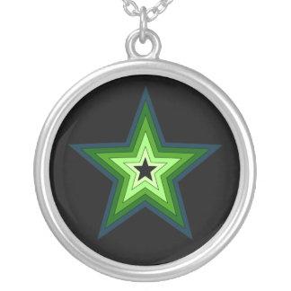 Collar verde de la estrella