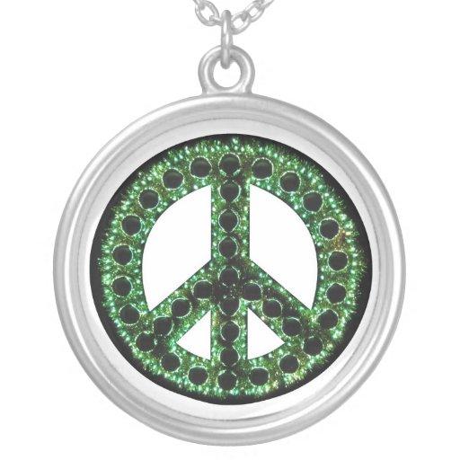 Collar verde de la paz