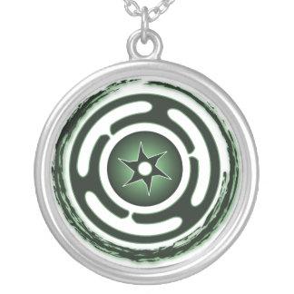 Collar (verde) de la rueda de Hecate