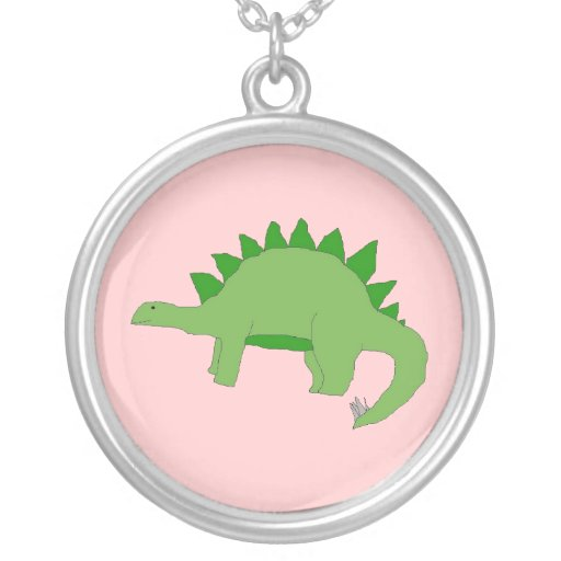 Collar verde del Stegosaurus