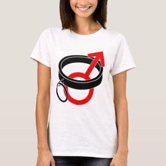 Collared male symbol. T-Shirt