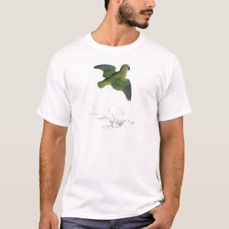 Collared Parrakeet by Edward Lear T-Shirt