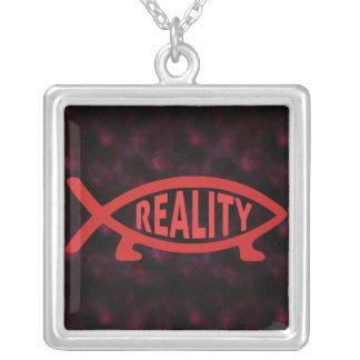 Collares de los pescados de Darwin de la realidad