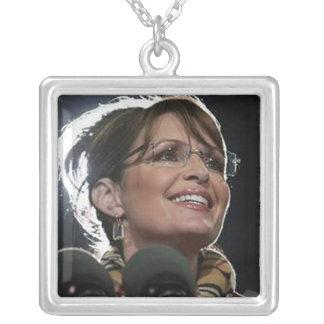 Collares del collage de Sarah Palin