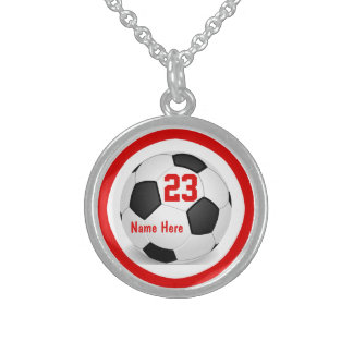 Collares del fútbol con número