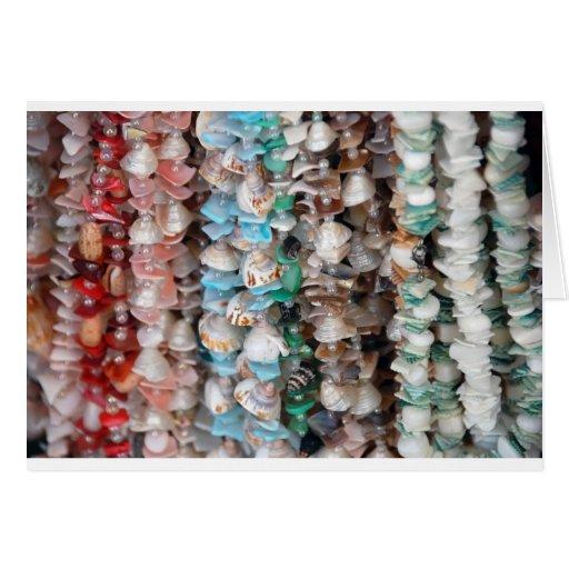 Collares multicolores de Shell Felicitacion
