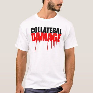 Collateral Damage Paint Drip Tee