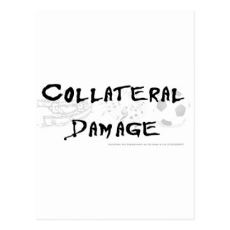 Collateral Damage Postcard