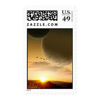 Collatina Stamp