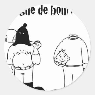 Colleague of Torturer (François City & Gdb Gdblog) Classic Round Sticker