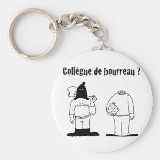 Colleague of Torturer (François City & Gdb Gdblog) Basic Round Button Keychain