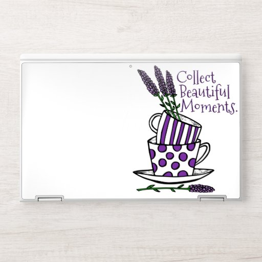 Collect Beautiful Moments HP Laptop Skin