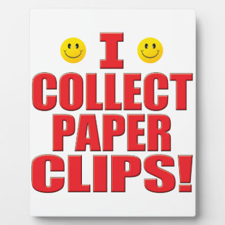 Collect Clips Life Plaques