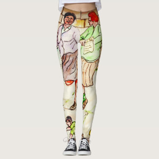 Collect Memories Not Things - Life On The Stoop Leggings